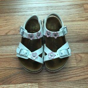 Little girls Birkenstock sandals